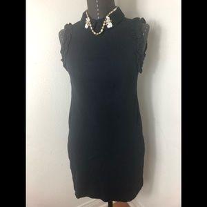 Zara Trafuluc Bodycon Ruffled Arms Dress